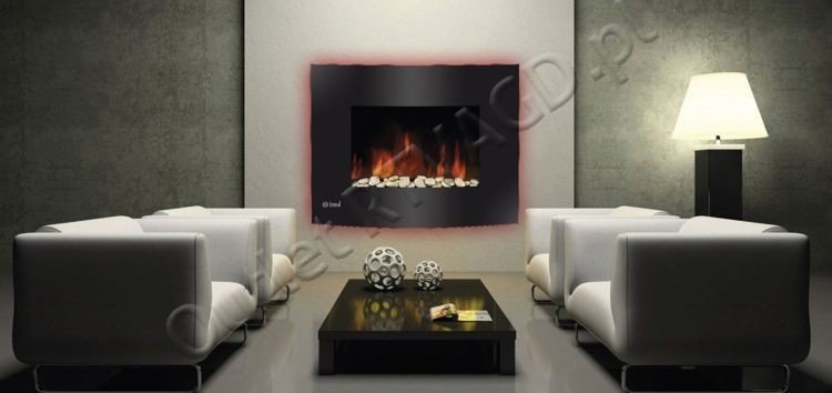 trevidea ho 913 mangiafuoco elektrischer wandkamin mit flammenambiente led ebay. Black Bedroom Furniture Sets. Home Design Ideas