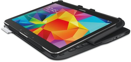 Etui do tabletu LOGITECH UltraThin Folio S410 do Galaxy Tab  (920-006389) / czarne / naklejki PL