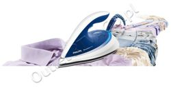 Żelazko ze stacją parową PHILIPS Perfect Care GC7610/20 / gotowość w 2 min /2400W / stopa T-IonicGlide / 5 bar / tryb Eco